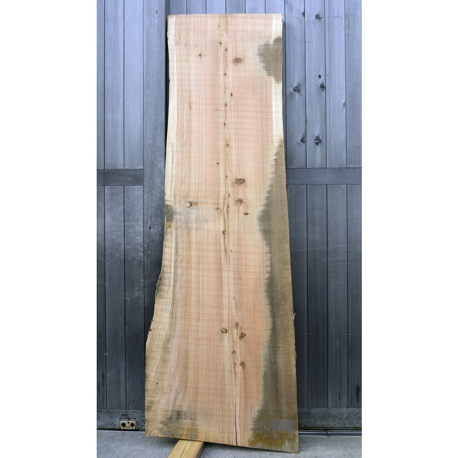 【杉板】【1点もの】杉材 無垢板 節有り 長さ2200mm 厚み44mm 幅590mm 1枚 荒削り 耳付き 両端割れあり|kobikiya|02