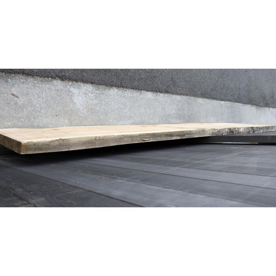 【杉板】【1点もの】杉材 無垢板 節有り 長さ2200mm 厚み44mm 幅590mm 1枚 荒削り 耳付き 両端割れあり|kobikiya|03