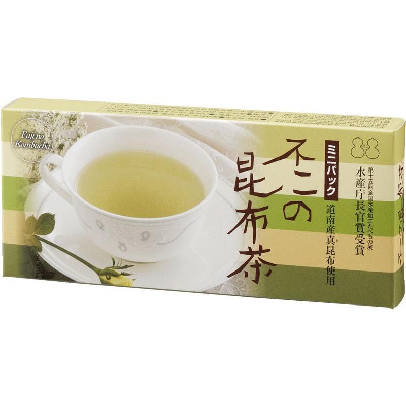 不二の昆布茶ミニパック kobucha-fuji