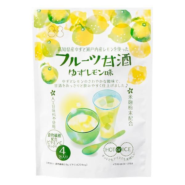 フルーツ甘酒 ゆずレモン味|kobucha-fuji