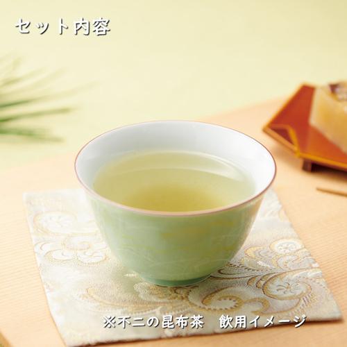 【SF-44】昆布茶・梅こぶ茶・佃煮・炊き込み御飯の素・出し昆布・醤油詰合せ kobucha-fuji 02