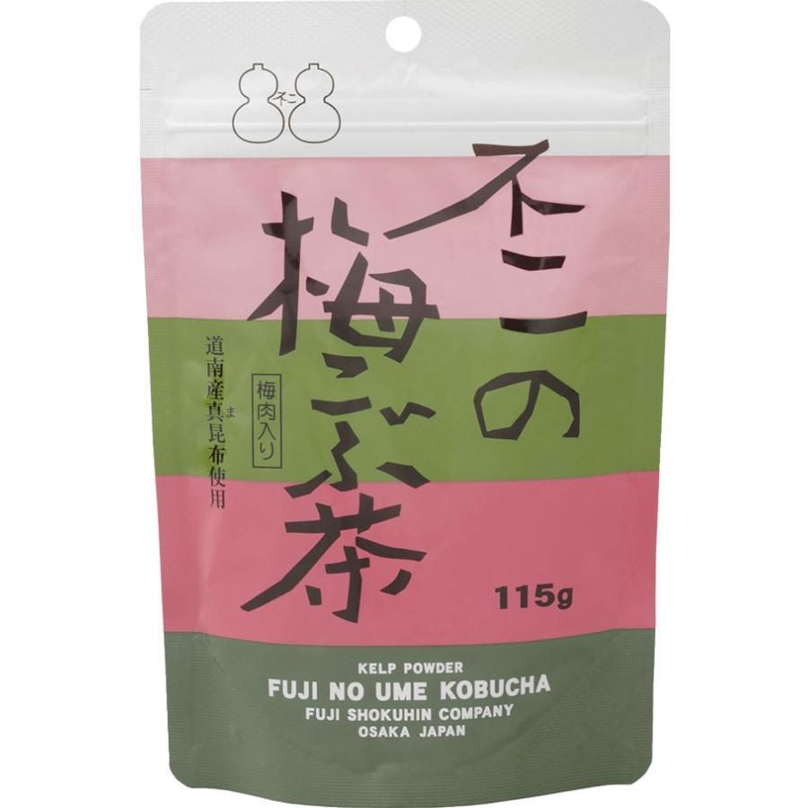 不二の梅こぶ茶115g袋|kobucha-fuji