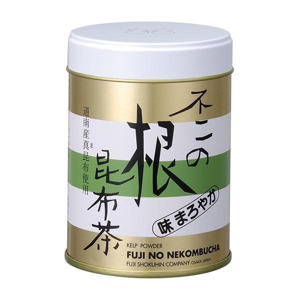 不二の根昆布茶 40g缶|kobucha-fuji