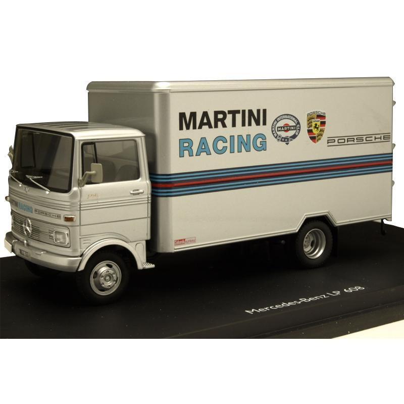 Schuco/シュコー メルセデス・ベンツ LP 608 MARTINI RACING グレー 1/43スケール 03528 送料無料 同梱不可