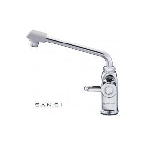 三栄水栓 SANEI 立形上向自在水栓 JA572DC-13 送料無料 同梱不可