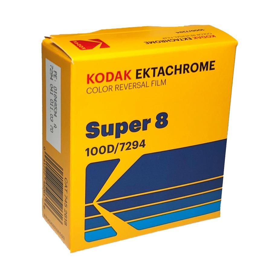スーパー8 / コダック エクタクローム 100D カラーリバーサル フィルム 7294 / 50フィート カートリッジ kodak