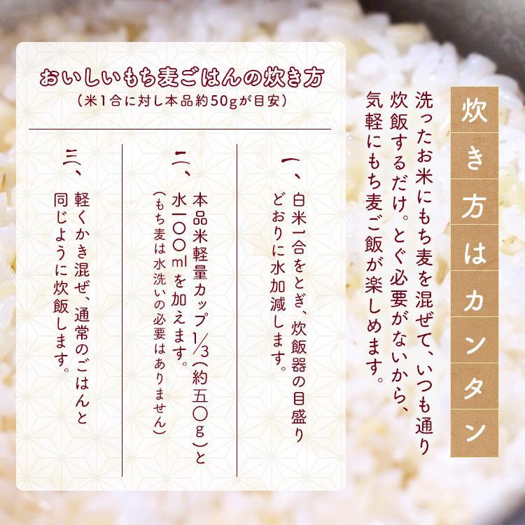 もち麦 国産 麦 安い モチ麦 2kg (1kg×2)チャック付 雑穀 穀物 もちむぎ お徳用 お得用 食物繊維 国産もち麦2kg アイリスフーズ kodawari-y 07