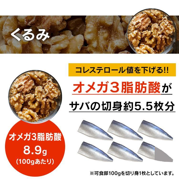 ミックスナッツ 無塩 850g 安い 3種 素焼き 3種のミックスナッツ アーモンド くるみ カシューナッツ 3種 食塩無添加 メール便 プレ会員限定数量限定500個セール kodawari-y 04