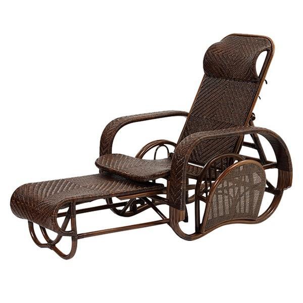 椅子 チェア リクライニング 籐 軽い 高級 Handmadeシリーズ Handmadeシリーズ ラタン 三つ折椅子 M505KA
