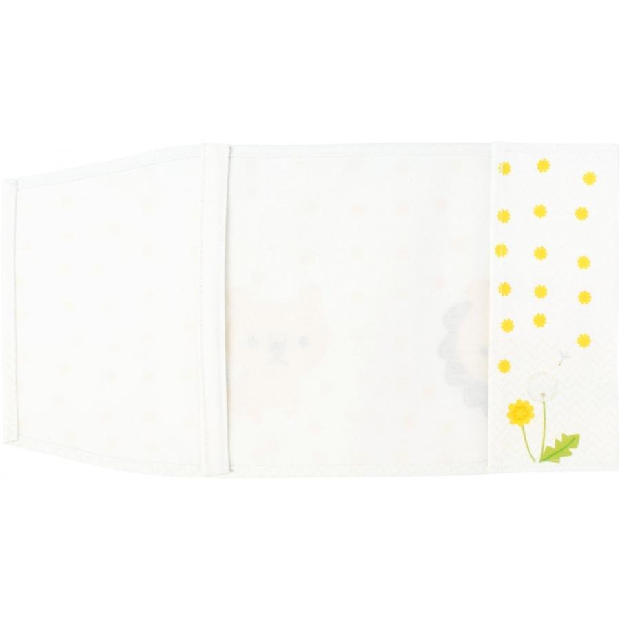 ブックカバー 文庫本サイズ らいおん <いきもの シリーズ> kodo-goods-store 02