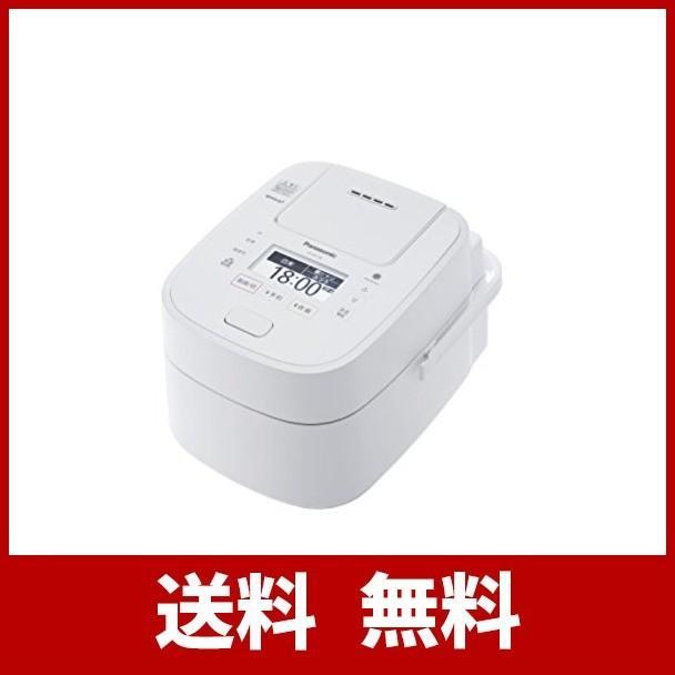 パナソニック 炊飯器 1升 圧力IH式 Wおどり炊き ホワイト SR-VSX188-W