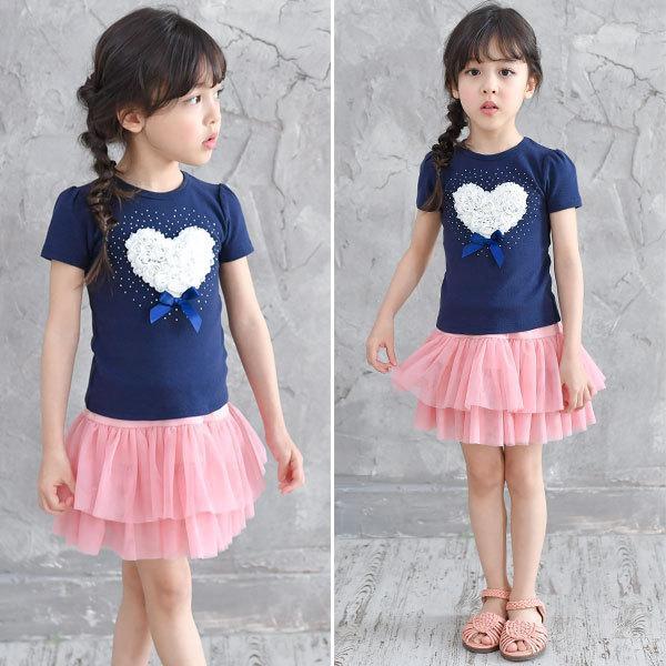インナーパンツ付きチュチュスカート 韓国子供服 韓国こども服 韓国こどもふく Bee キッズ 女の子 春 夏 サマー ボトムス|kodomofuku-bee|05