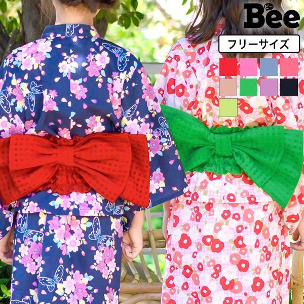 浴衣帯 韓国子供服 韓国こども服 韓国こどもふく Bee キッズ 女の子 春 夏 サマー|kodomofuku-bee