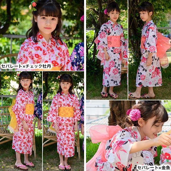 浴衣3点セット 韓国子供服 韓国こども服 韓国こどもふく Bee キッズ 女の子 春 夏 サマー|kodomofuku-bee|13