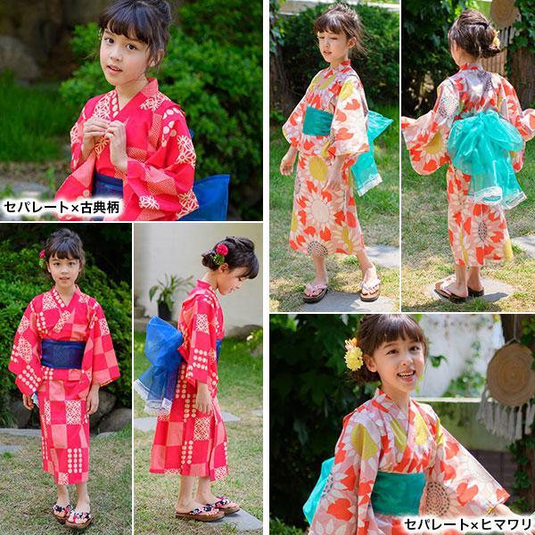 浴衣3点セット 韓国子供服 韓国こども服 韓国こどもふく Bee キッズ 女の子 春 夏 サマー|kodomofuku-bee|14