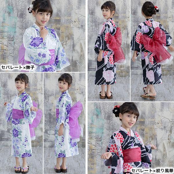 浴衣3点セット 韓国子供服 韓国こども服 韓国こどもふく Bee キッズ 女の子 春 夏 サマー|kodomofuku-bee|15