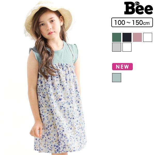 ノースリーブワンピース 韓国子供服 韓国子ども服 韓国こども服 Bee 女の子 春 夏 100 110 120 130 140 150|kodomofuku-bee