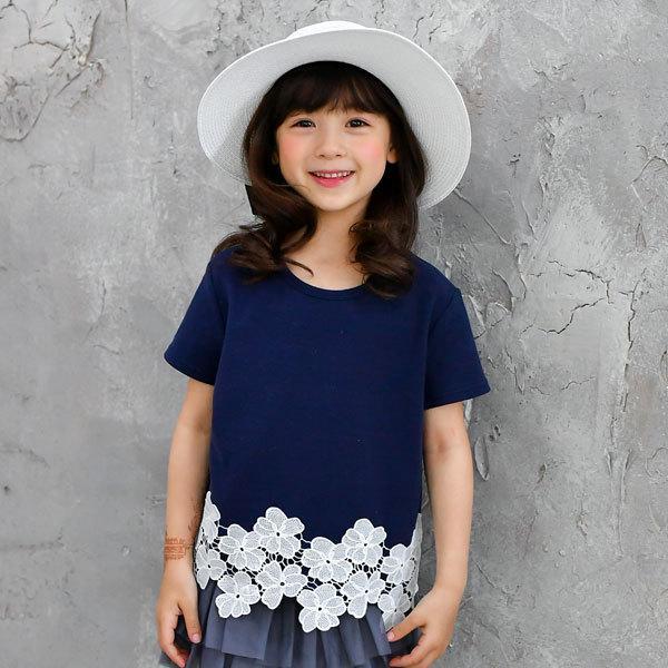 半袖トップス 韓国子供服 韓国こども服 韓国こどもふく Bee キッズ 女の子 春 夏 サマー kodomofuku-bee 09