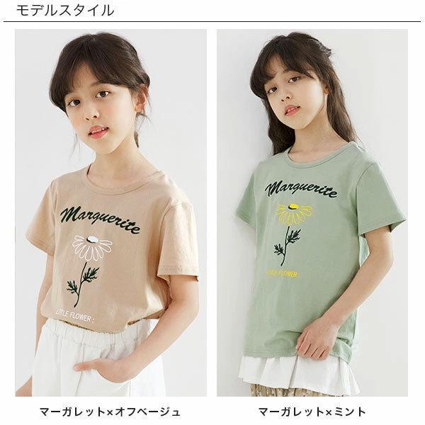 半袖Tシャツ 韓国子供服 韓国こども服 韓国こどもふく Bee キッズ 女の子 男の子 春 夏 サマー RELAX|kodomofuku-bee|08