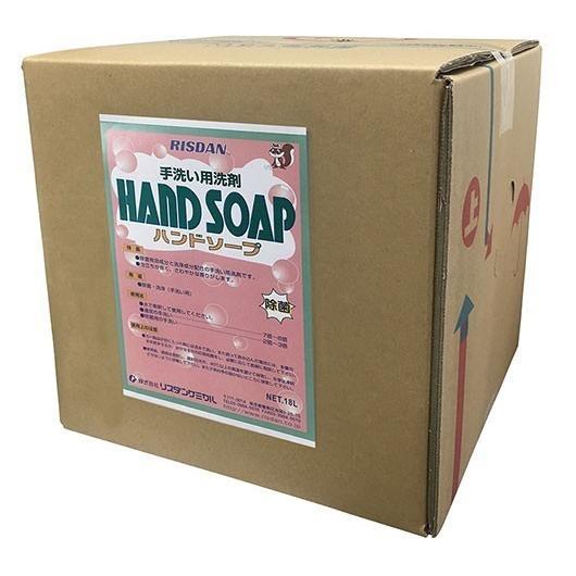 業務用 ハンドソープ18L  18セットまとめ買い  除菌効果のある手洗い洗浄 自宅用 飲食店 店舗 保育学校用品 日本製 リスダンケミカル こども良品
