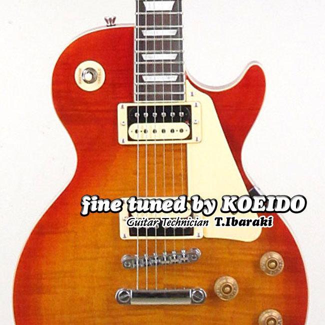 エレキギター Bacchus 高い素材 BLP-FMH R 買い物 CS レスポールタイプ スペア弦サービス中 バッカス