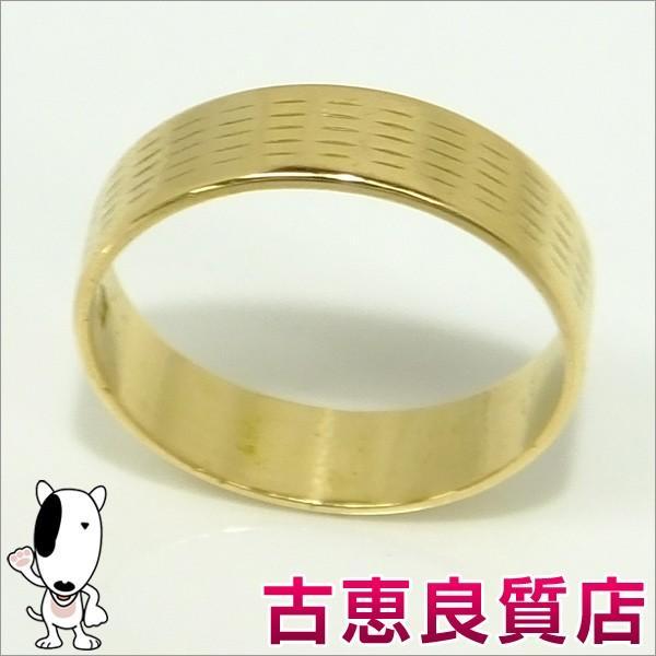 【超ポイントバック祭】 美品 K18 イエローゴールドリング 3.0g 指輪 リングサイズ13号  (本店), 眠り姫 10926b52
