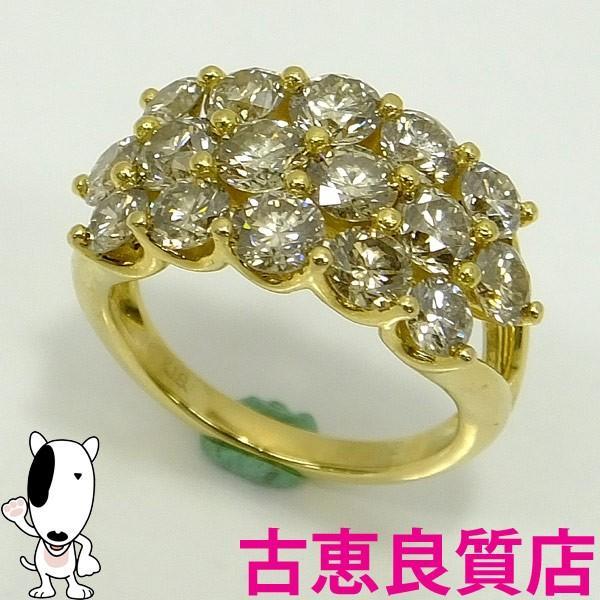 セール 登場から人気沸騰 K18 ダイヤモンドファッションリング 2.71ct 指輪 ダイヤモンド 2.71ct 5.5g 指輪 (本店) サイズ7号 (本店), ビホロチョウ:8f2cd168 --- airmodconsu.dominiotemporario.com