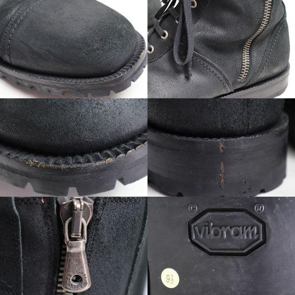 DOLCE & GABBANA ドルチェ&ガッバーナ ドルガバ 9752 1509 メンズブーツ コマンドブーツ ブラック サイズ9 1/2 日本サイズ約27.5cm /中古/質屋出店|koera|04