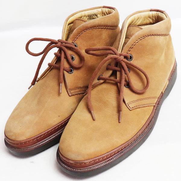 バリー BALLY シューズ メンズ靴ショートブーツ ブラウン サイズ41 日本サイズ約26cm /中古/質屋出店|koera