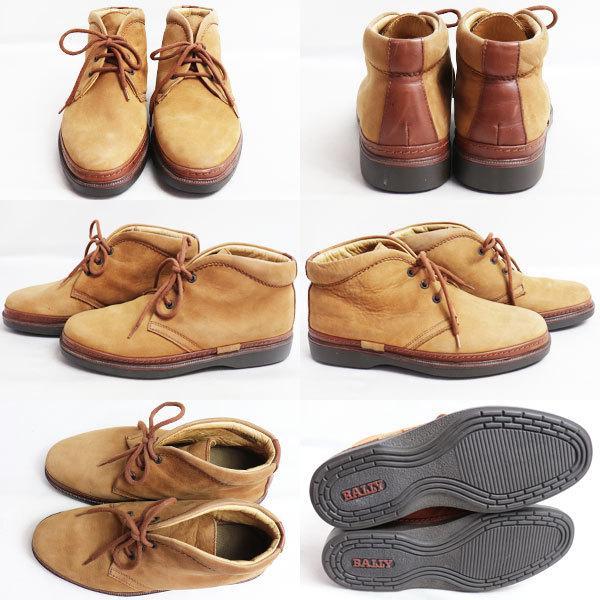 バリー BALLY シューズ メンズ靴ショートブーツ ブラウン サイズ41 日本サイズ約26cm /中古/質屋出店|koera|02