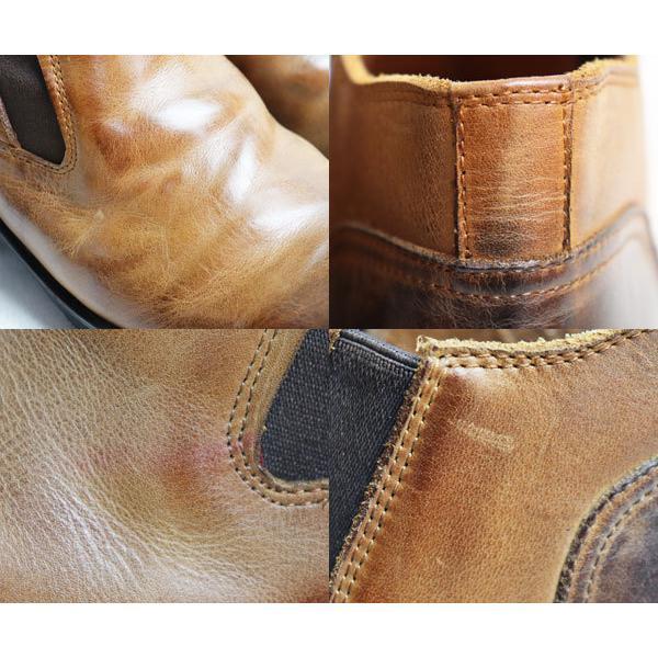 ラウディ RAUDi サイドゴアブーツ男性靴 R-91213 40 ブラウン 約25.5cm/中古/極美品/質屋出店 koera 04