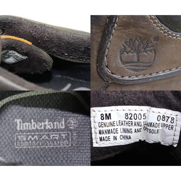 Timberland ティンバーランド 82005 メンズ靴ショートブーツ ダークブラウン サイズ8M 日本サイズ約26cm /中古/質屋出店|koera|03