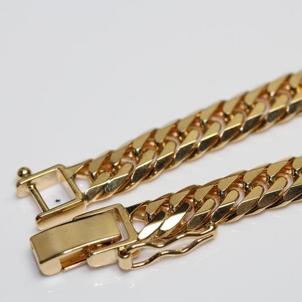 魅力的な K18 W6面喜平 キヘイ ダブル ブレスレット 20.1g 約20.5cm 金ゴールド YG イエローゴールドあすつく/MN1618/, ブルーミンググレイス 77ed9c2f