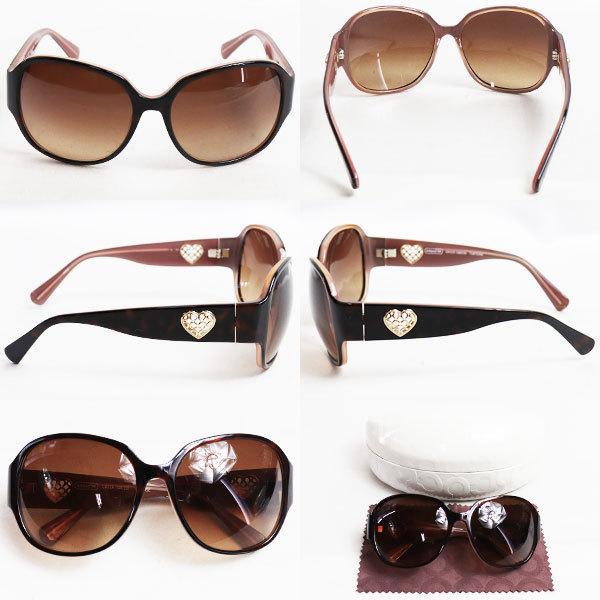 COACH コーチ サングラス GREER S8019 TORTOISE 眼鏡 めがね メガネフレーム 57□16-125/質屋出店/中古|koera|02