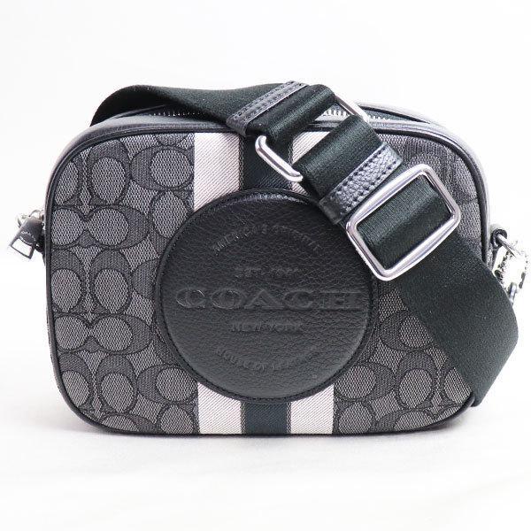 新品/未使用品/買取品 COACH コーチ バッグ デンプシーカメラバッグ 1912 SVRT6 ショルダーバッグ グレー/ブラック/アウトレット|koera