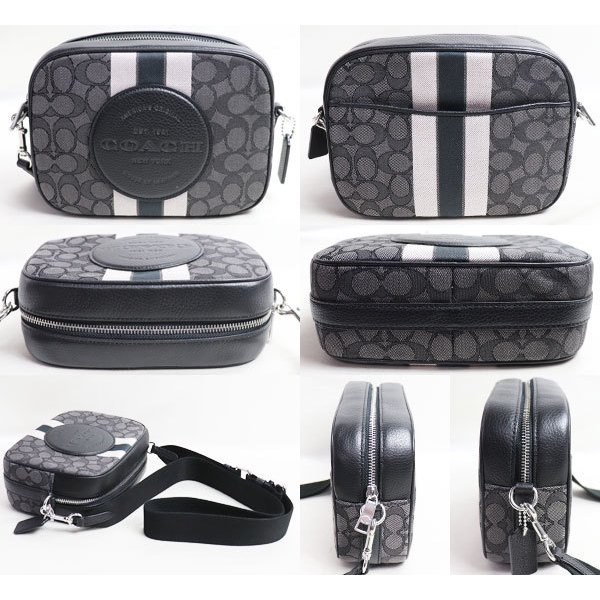 新品/未使用品/買取品 COACH コーチ バッグ デンプシーカメラバッグ 1912 SVRT6 ショルダーバッグ グレー/ブラック/アウトレット|koera|02