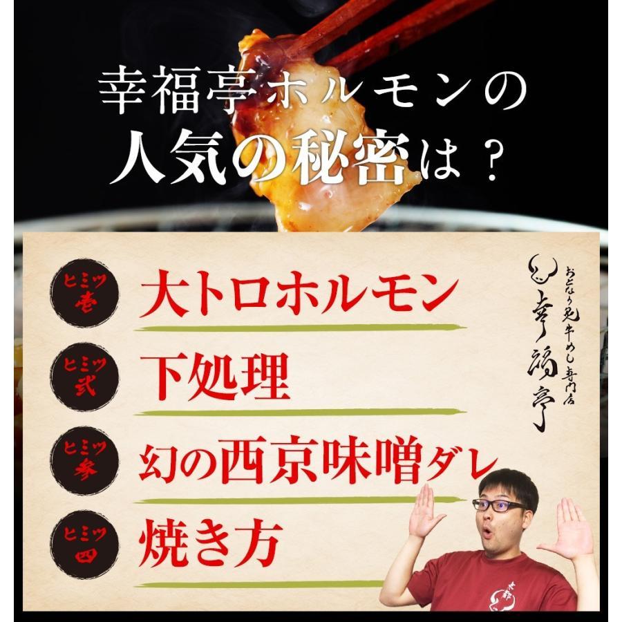 ホルモン 焼肉 ホルモン焼き お取り寄せグルメ うちホル 肉 BBQ 牛ホルモン 国産牛 大トロ ホルモン 400g(4〜5人前) 自家製みそ kofukutei 11
