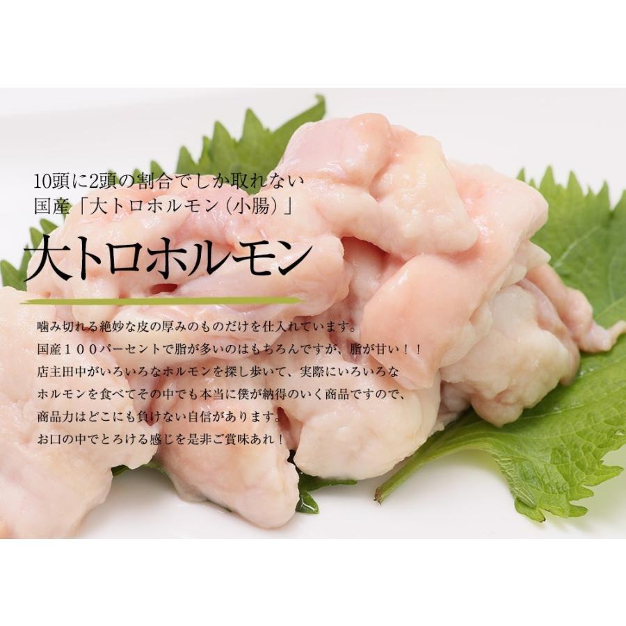 ホルモン 焼肉 ホルモン焼き お取り寄せグルメ うちホル 肉 BBQ 牛ホルモン 国産牛 大トロ ホルモン 400g(4〜5人前) 自家製みそ kofukutei 12
