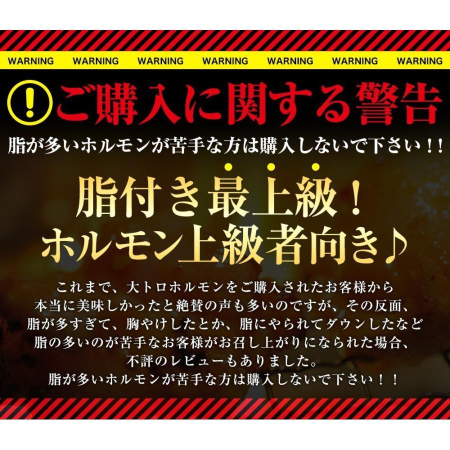 ホルモン 焼肉 ホルモン焼き お取り寄せグルメ うちホル 肉 BBQ 牛ホルモン 国産牛 大トロ ホルモン 400g(4〜5人前) 自家製みそ kofukutei 03