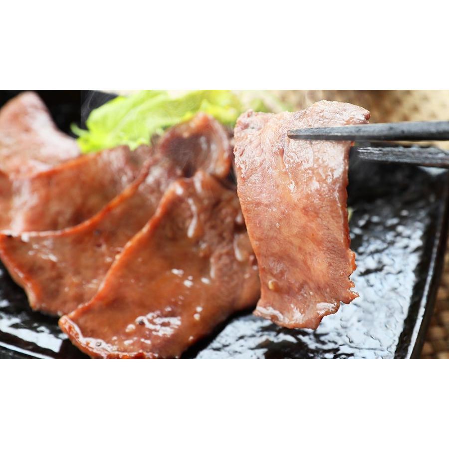 牛タン 厚切り 焼肉 肉 ギフト 霜降り ステーキ 高級 牛肉 焼き肉  牛タン300g(3〜4人前) 特製 塩だれ 付きお取り寄せグルメ kofukutei 09