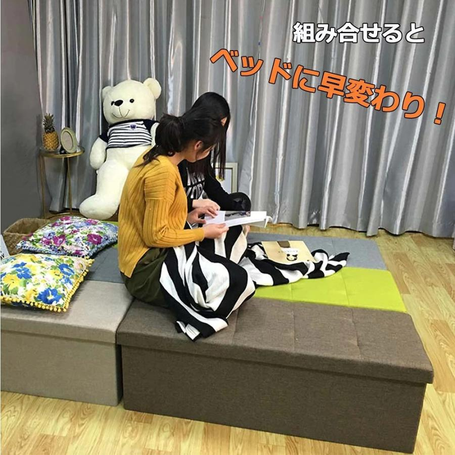 座れるスツール 収納スツール 収納付 ボックススツール 椅子 収納ベンチ 収納ボックス ベンチ オットマン 収納 おもちゃ ローソファー 収納ケース|kogyostore|14