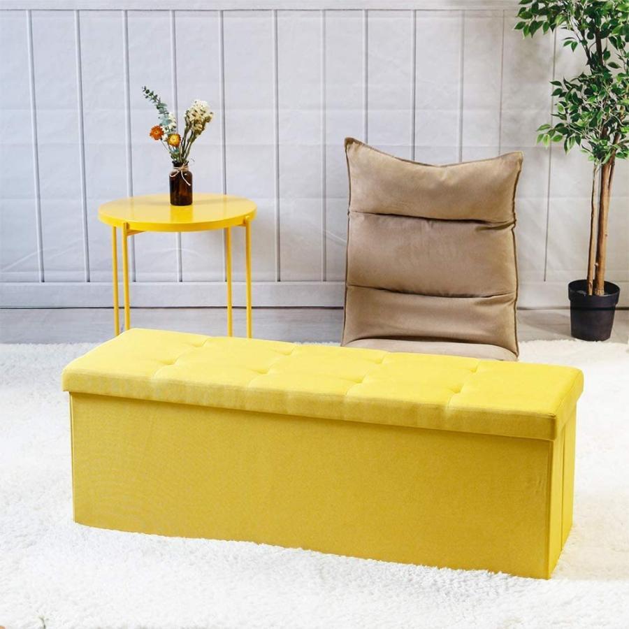 座れるスツール 収納スツール 収納付 ボックススツール 椅子 収納ベンチ 収納ボックス ベンチ オットマン 収納 おもちゃ ローソファー 収納ケース|kogyostore|05