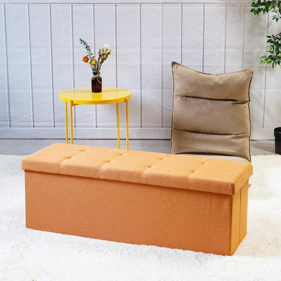 座れるスツール 収納スツール 収納付 ボックススツール 椅子 収納ベンチ 収納ボックス ベンチ オットマン 収納 おもちゃ ローソファー 収納ケース|kogyostore|06