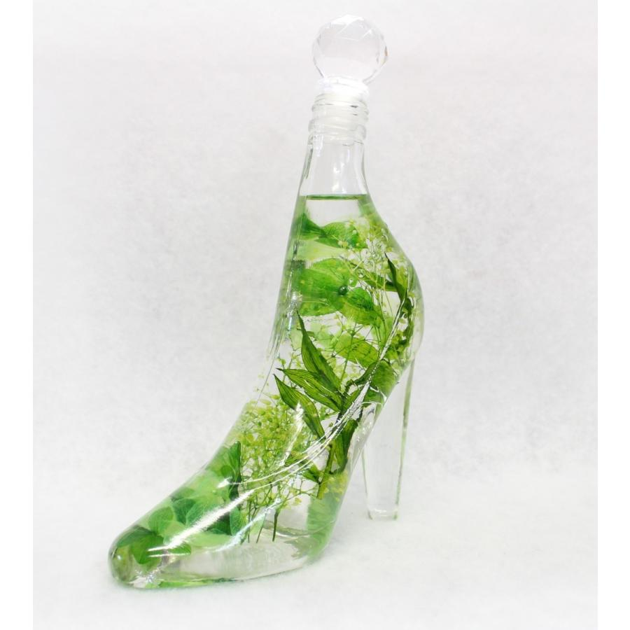 ハーバリウム ボトル 瓶 ハイヒール シンデレラシュー GL-HH180 ガラスボトル ハイヒール180ml|koh5533|08