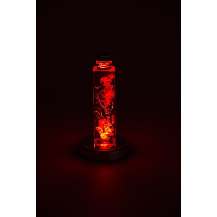 コースターライト LED レインボー ハーバリウム イルミネーション 台座 LED-SL-SQ8 スクエア シルバー|koh5533|05