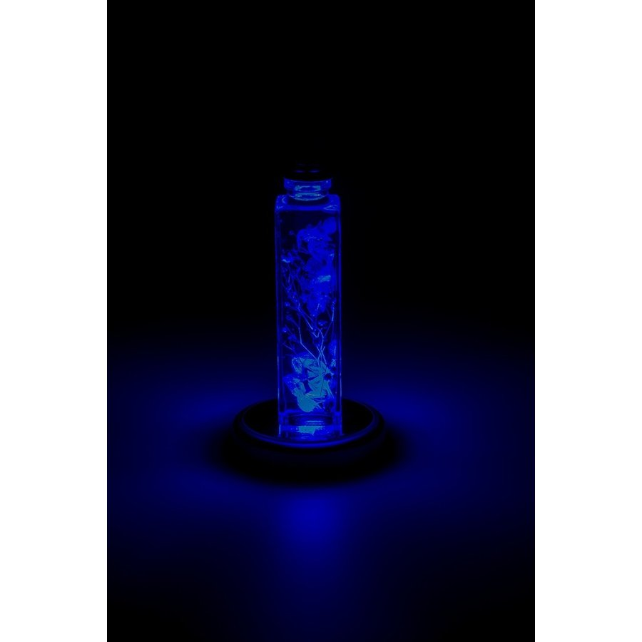 コースターライト LED レインボー ハーバリウム イルミネーション 台座 NKLS-8WN 木目コースター koh5533 03