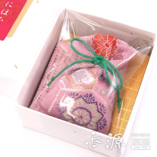 お香 匂い袋 巾着 ハイクオリティ 甘茶のかおり においぶくろ 香源オリジナル 送料無料限定セール中 日本製 紙箱入