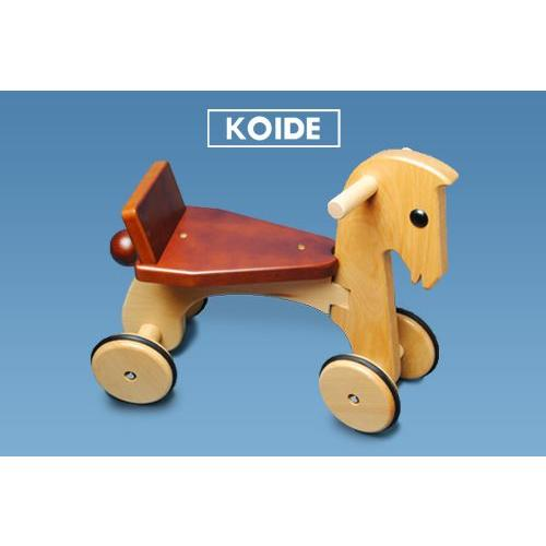 KOIDE 日本製木のおもちゃ ポニー