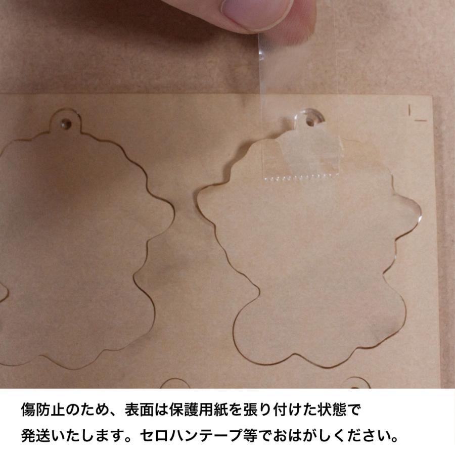 アクリル印刷 詰め放題 定額4000円 A4サイズ 3mm透明アクリル内に詰め放題、切り放題。お好きなデザインで印刷できます。アクキーづくりに!|kojima-shop1|15