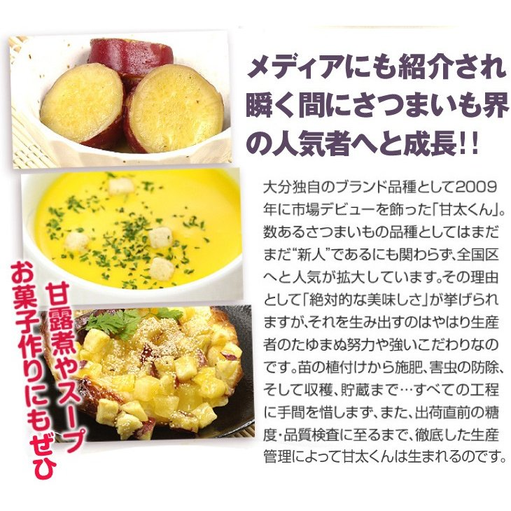 食品 大分産 甘太くん 5kg 1組 さつまいも 国華園 kokkaen 08